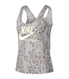 Camiseta Nike Gym Vntg Tank Leopard