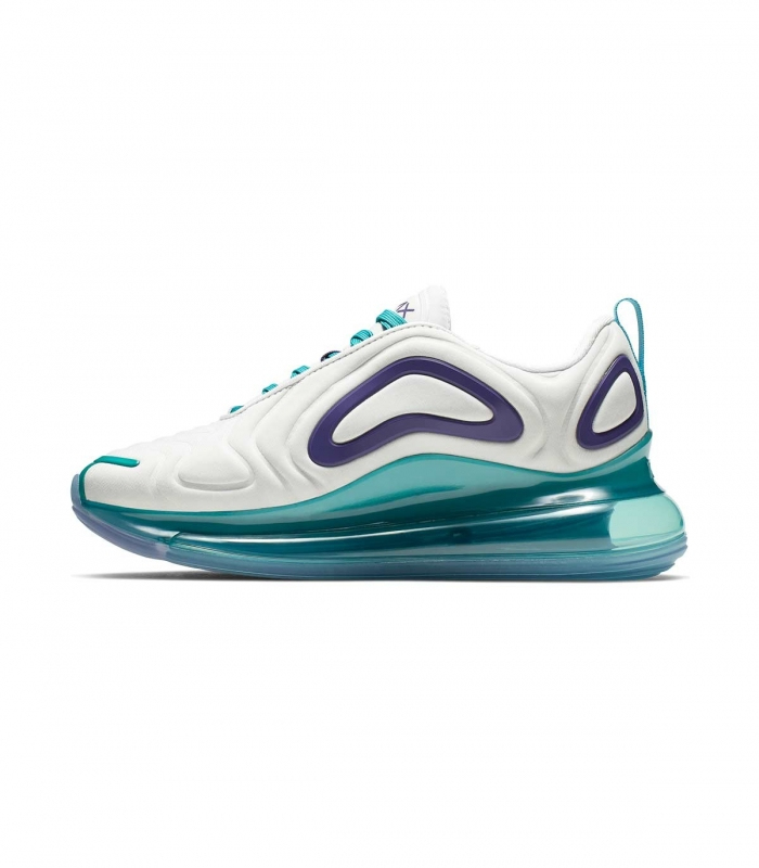 Zapatilla Nike Air Max 720 Blanco y Azul