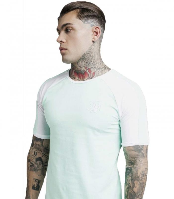 Camiseta Siksilk Raglan Contrast