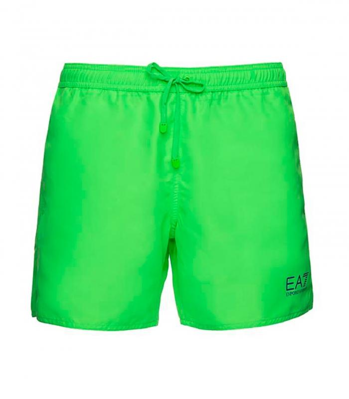 Bañador EA7 verde fluo