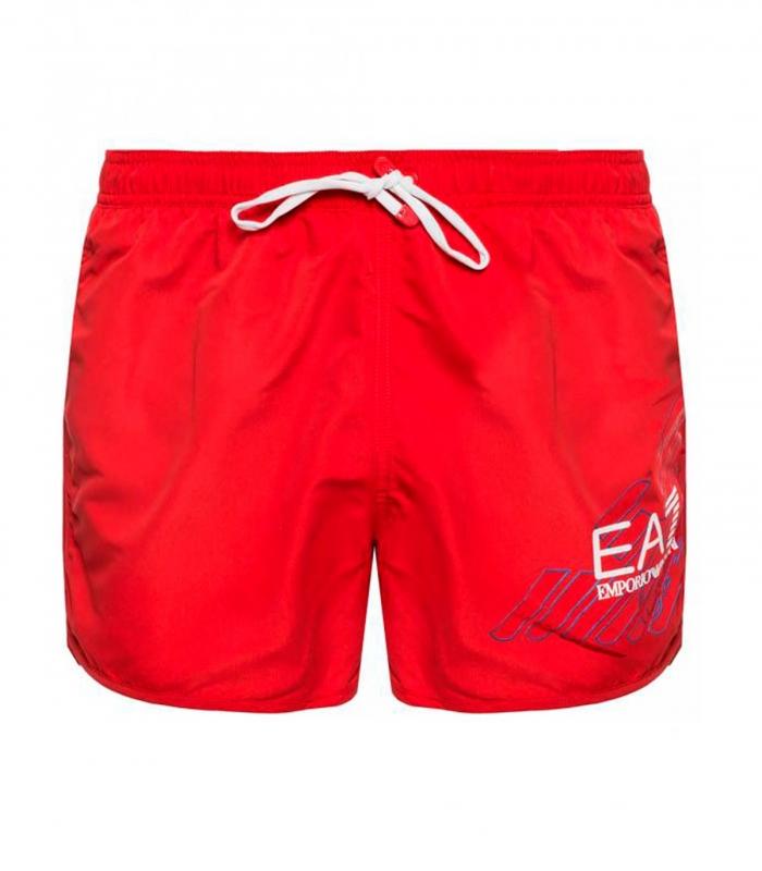Bañador EA7 rojo