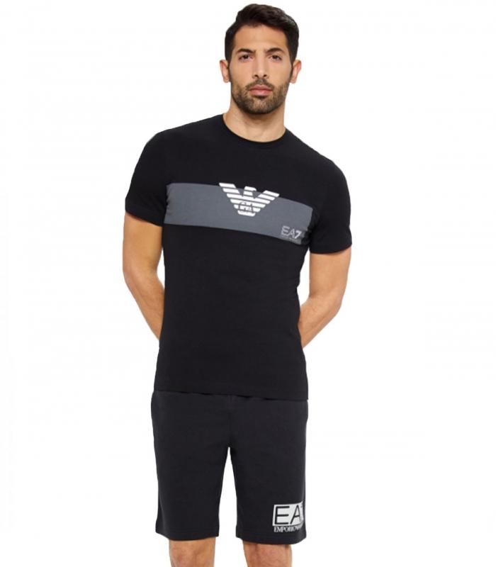 Pantalon EA7 negro