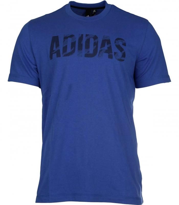 Camiseta Adidas OSR M Logo Tee Azul