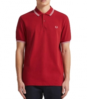 Polo Fred Perry Rojo