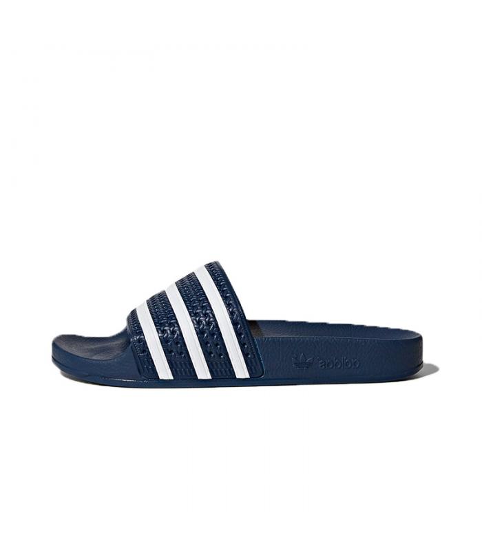 Chanclas Adidas Azul Marino Adilette