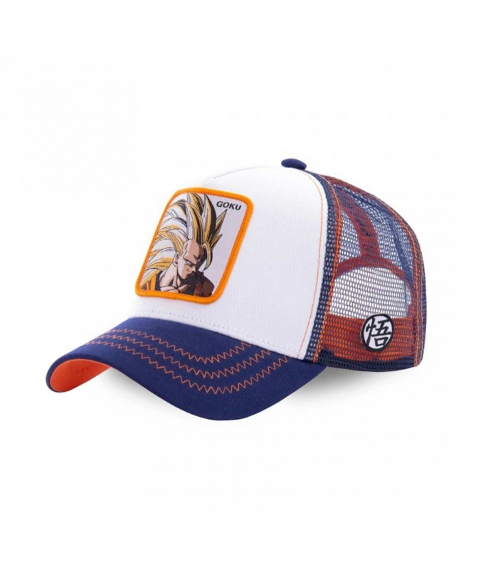 Casquette Collabs Blanche Goku - Dragon Ball