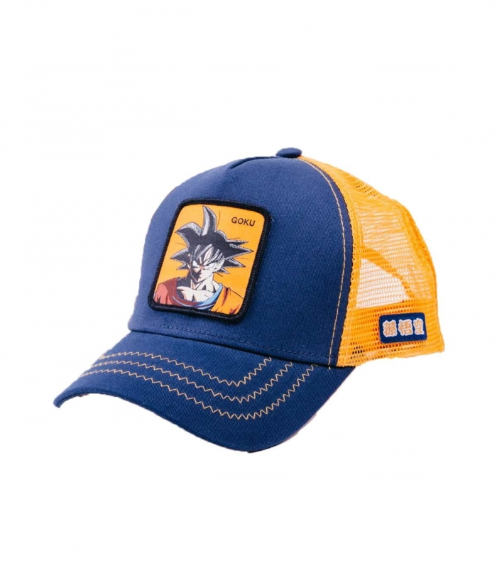 Cap Von Dutch Goku Blue
