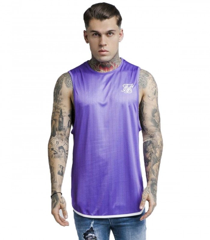 SikSilk Tape Trials Camiseta - Purpura