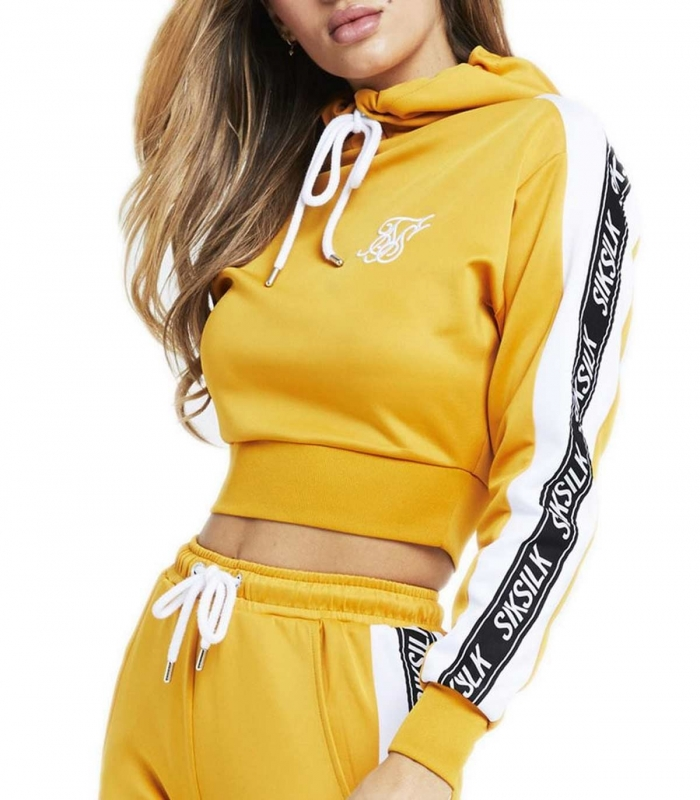 Siksilk Hoody Cropped and Jogger 90´s