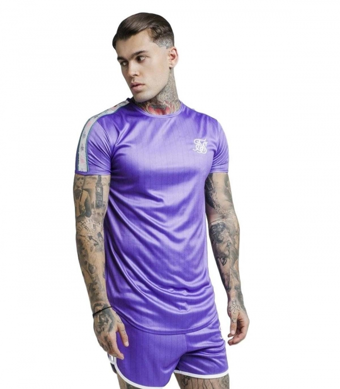 Camiseta Siksilk Tape Trials Gym Tee