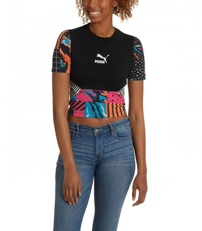 Camiseta Clash Women's AOP HS Top