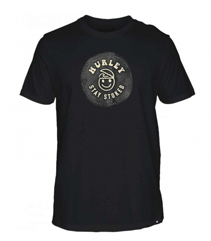 Camiseta Hurley M Stay Stoked Tee