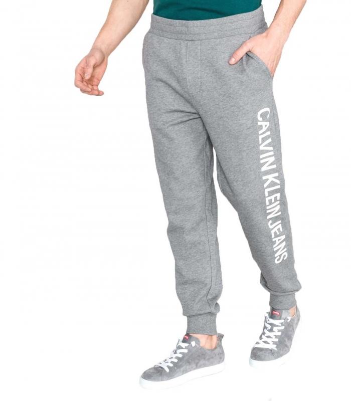 Pantalon largo Calvin Klein gris caballero