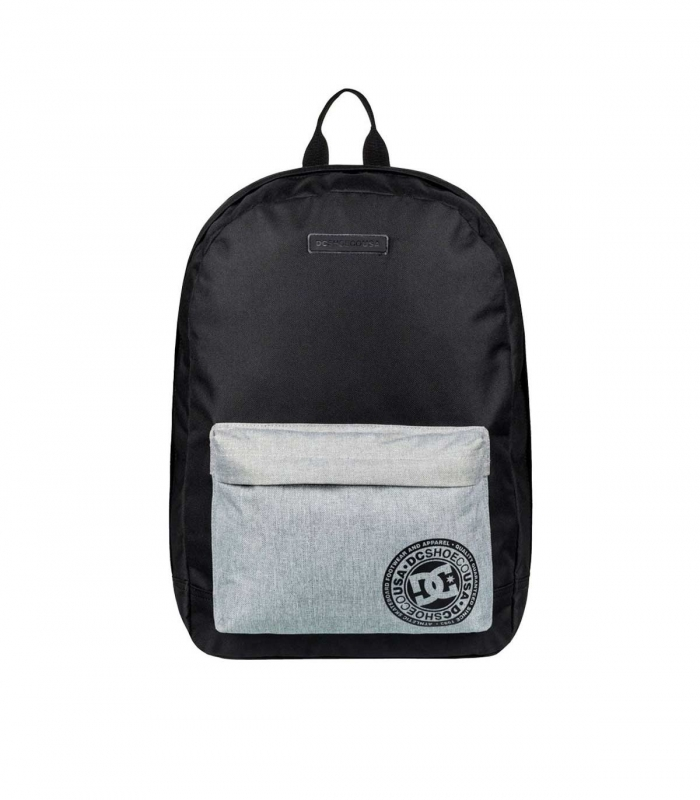 Black and grey DC Backpack