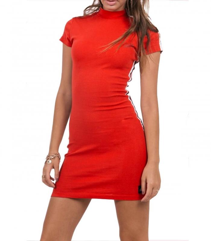 Vestido Sixth June Bodycon Mini Dress rojo