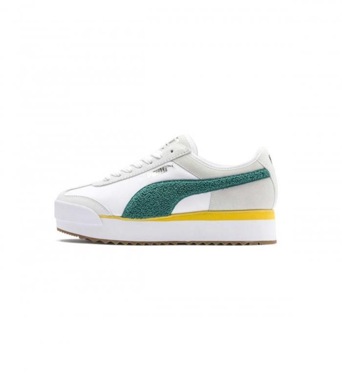 White Puma Armour heritage Sneakers