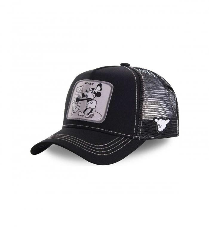 Gorra CapsLab Mickey Vintage negra