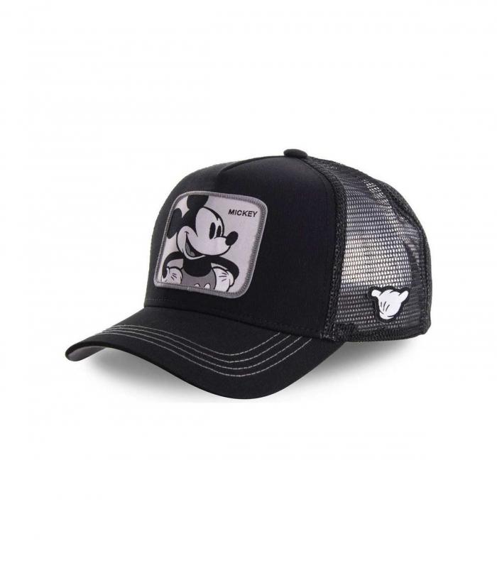 Gorra CapsLab Mickey Mouse Trucker negra