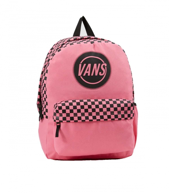 Pink Vans taper off realm backpack