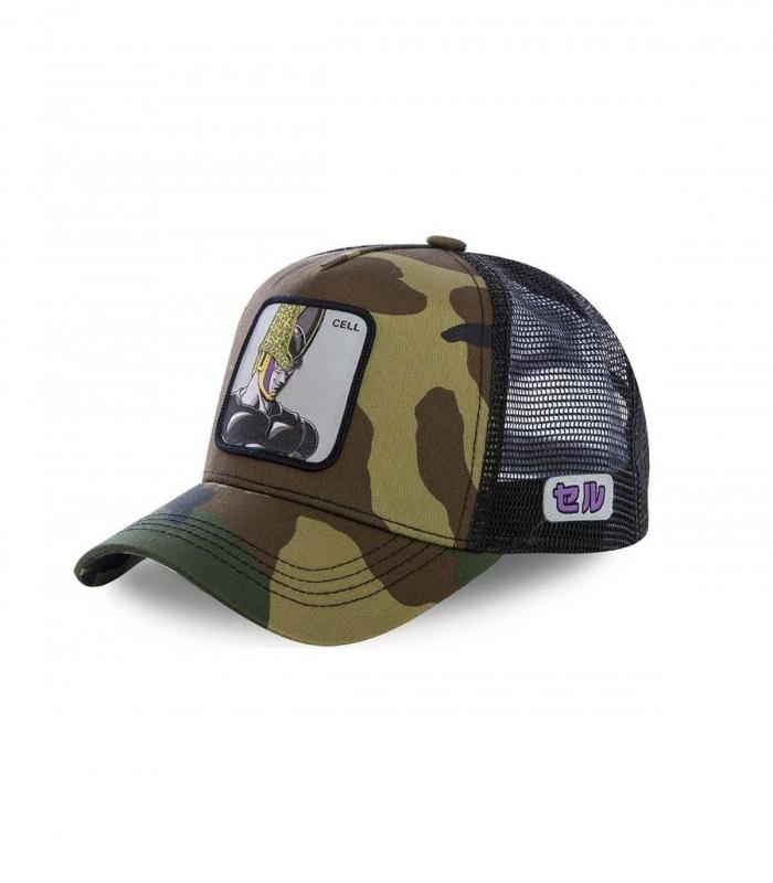 Casquette CapsLab Cell vert militaire
