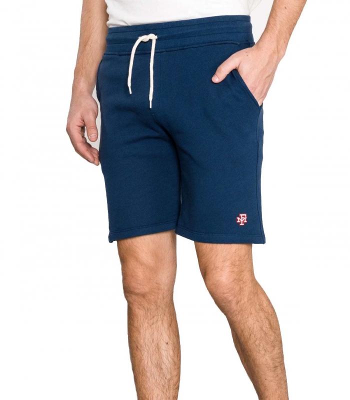 Pantalon Franklin Marshal Fleece Uni Navy