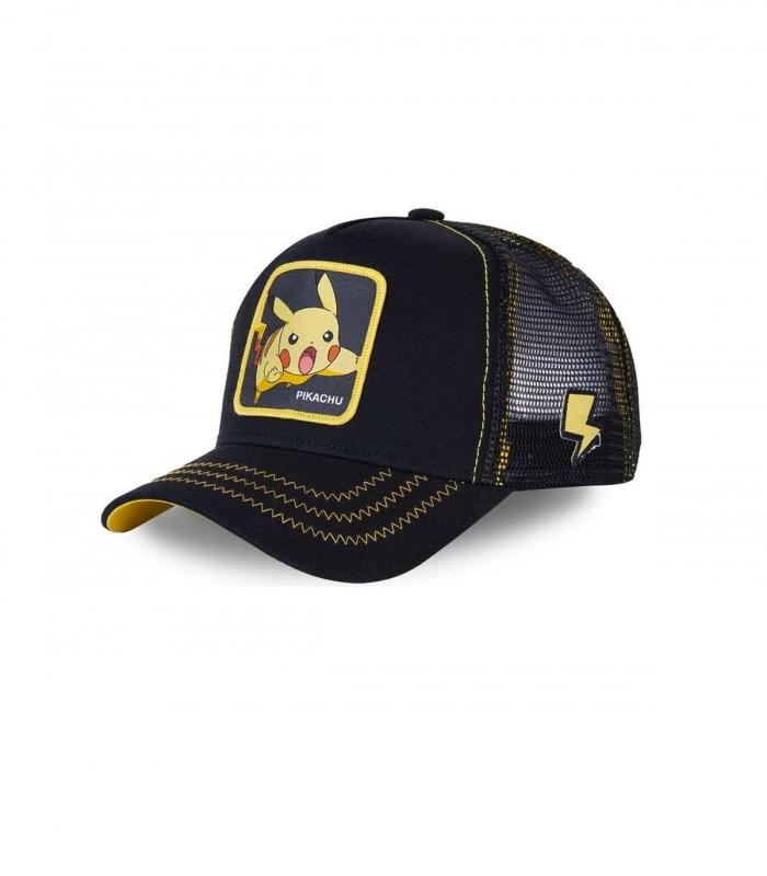 Gorra CapsLab Pikachu PIK7 negro