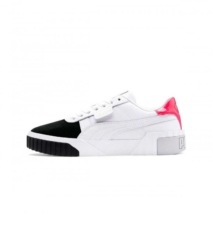 Sneakers Puma Cali Remix WNS noir et blanc