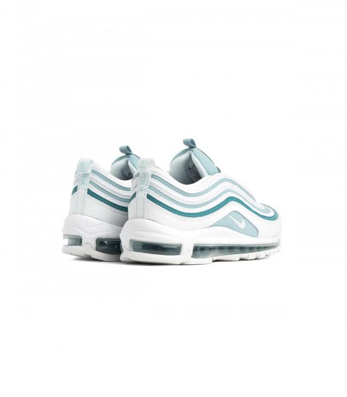 Detalles de Mujer Nike Air Max 97 Ultra 17 918356 302 Gris Verde Zapatillas Blancas