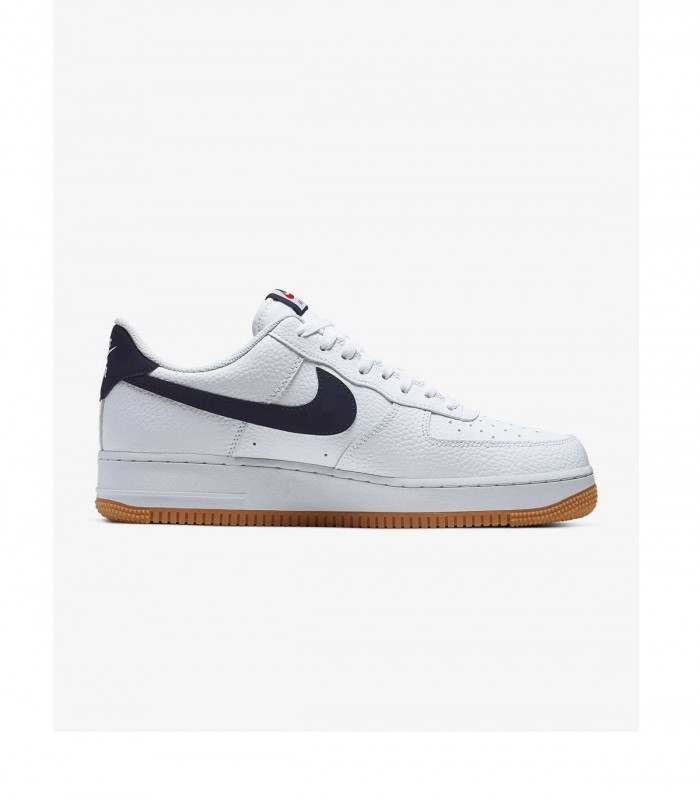 les ventes chaudes 5e9d7 5955a Sneakers Nike Air Force 1 blanc homme