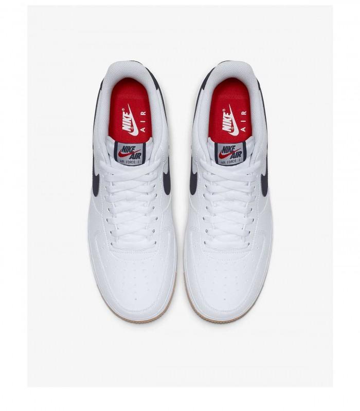 les ventes chaudes 2f7ae 4223a Sneakers Nike Air Force 1 blanc homme