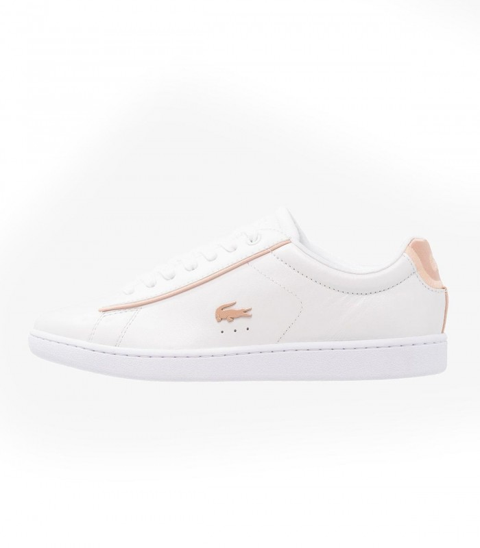 LACOSTE CARNABY EVO MUJER BLANCO