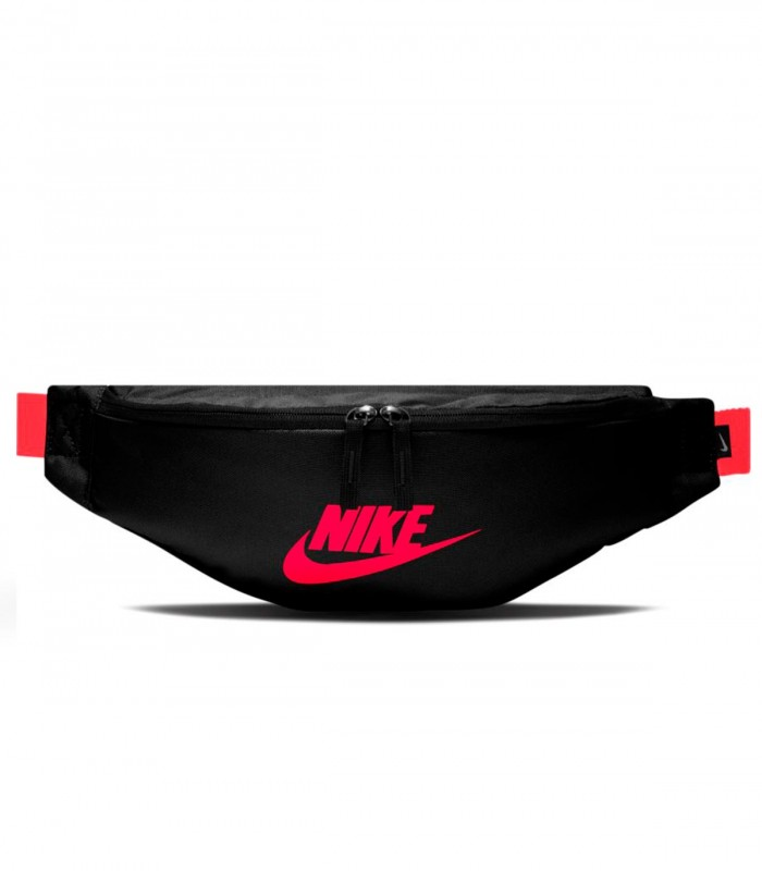 Riñonera Nike negro y rojo