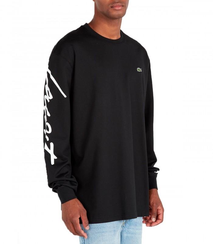 Camiseta Lacoste mangas cortas negro