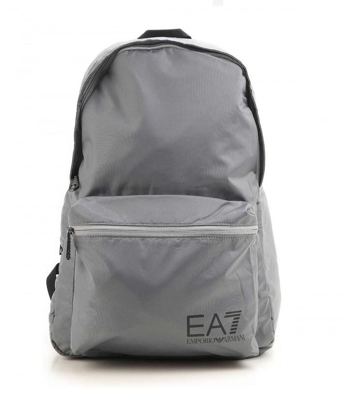 grey EA7 backpack