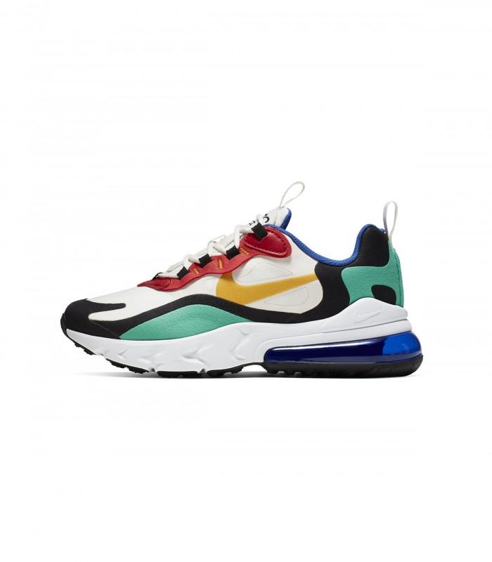 BQ0103 001 Nike Zapatilla Air Max 270 React Boys Road Running