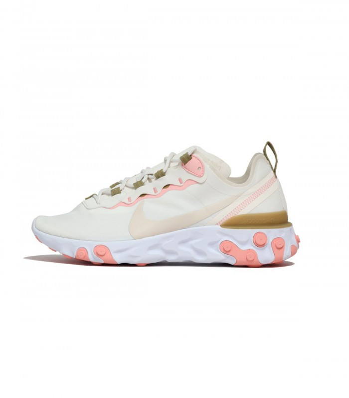 Zapatilla Nike React Element 55 Beige