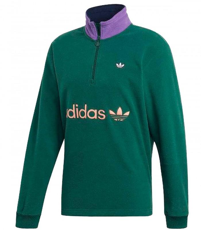 Sudadera Adidas Hlf Zip Clr Blk