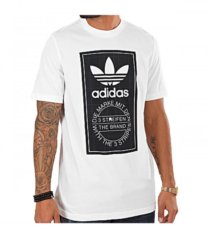 Camiseta Adidas Tartan Tongue T