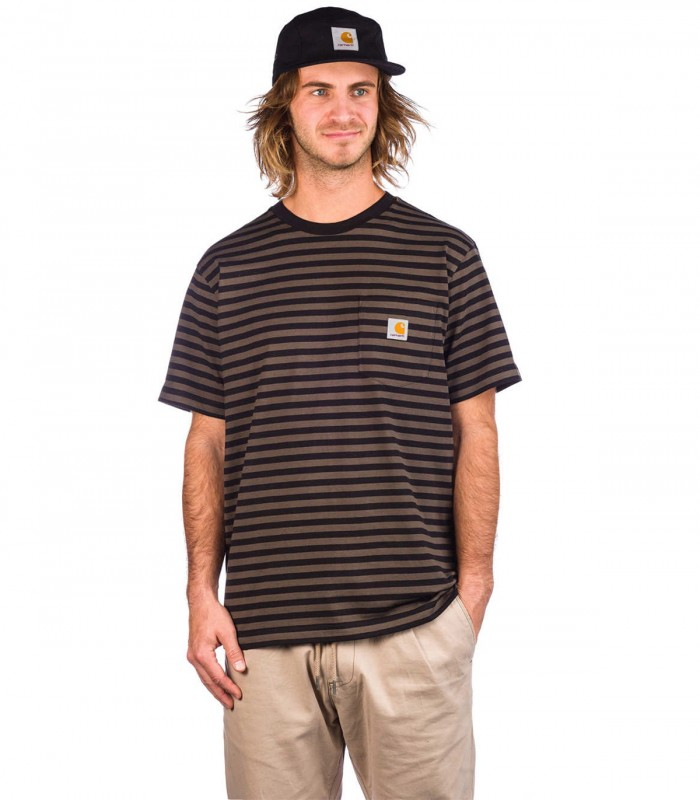 Camiseta Carhartt S/S Haldon Pocket