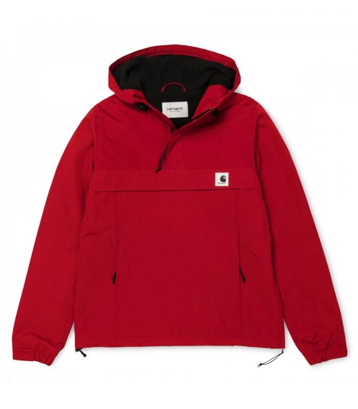 Chaquetón Carhartt Mujer Nimbus Pullover Rojo