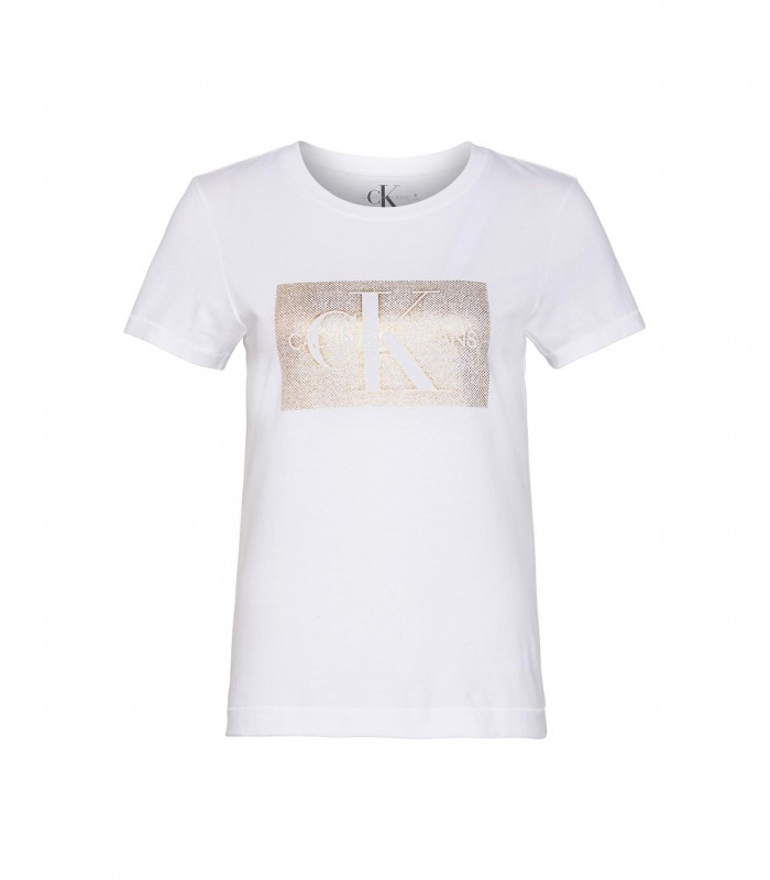 Camiseta CK Distressed Monogram SS