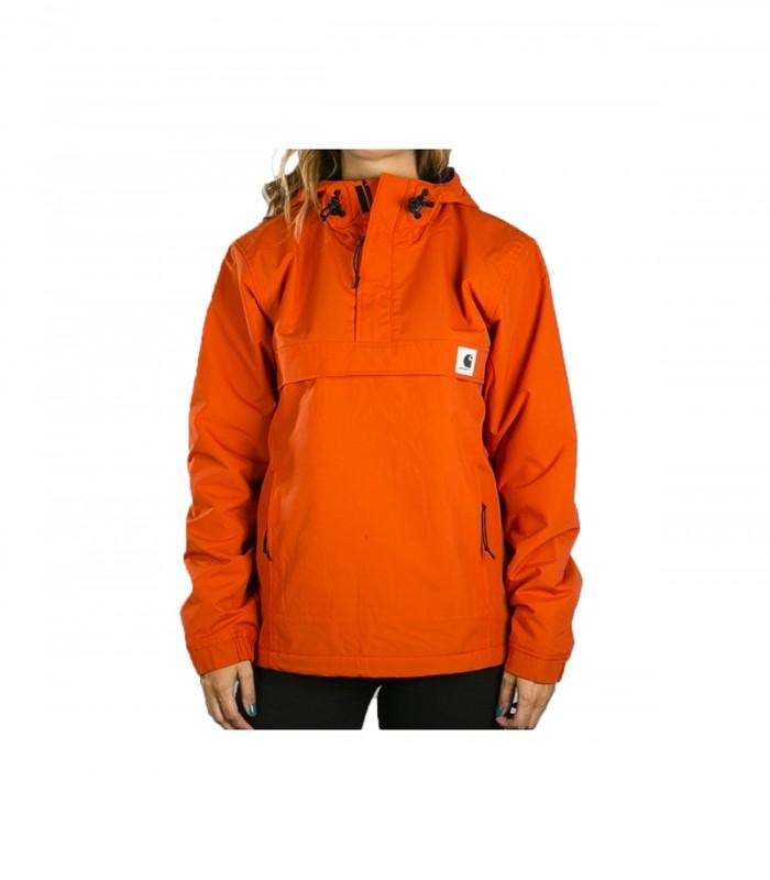 Chaqueton Carhartt Mujer Nimbus Pullover Naranja