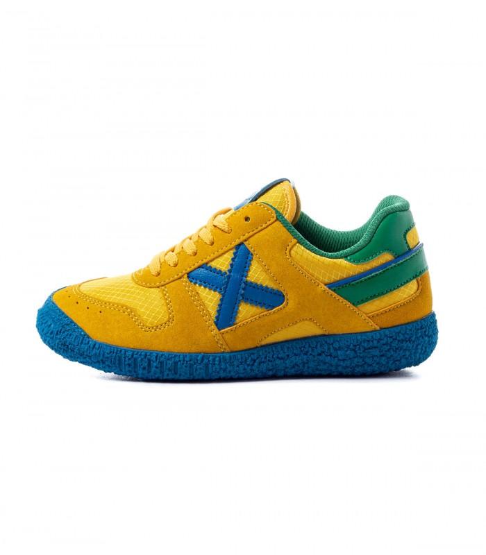Sneaker Munich Zapatillas Munich Mini Goal 1470 Niños Amarillo 35 Amarillo