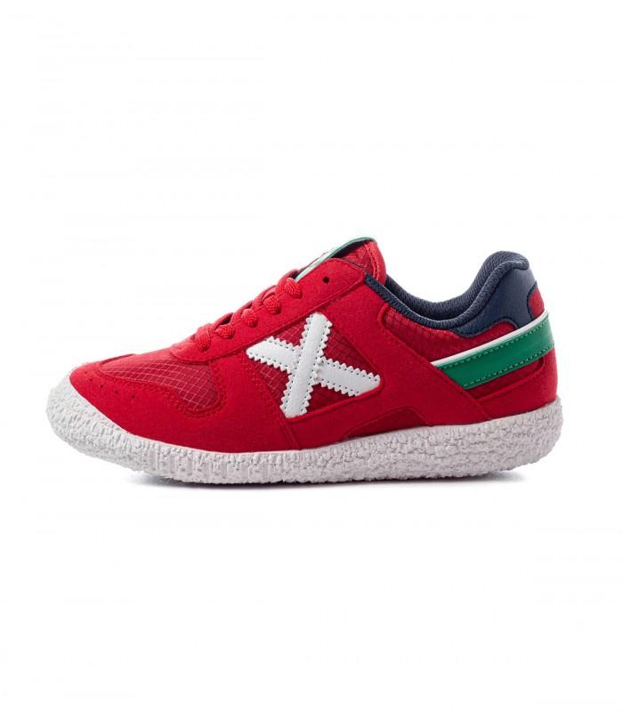 Sneaker Munich Zapatillas Munich Mini Goal 1468 Niños Rojo 36 Rojo