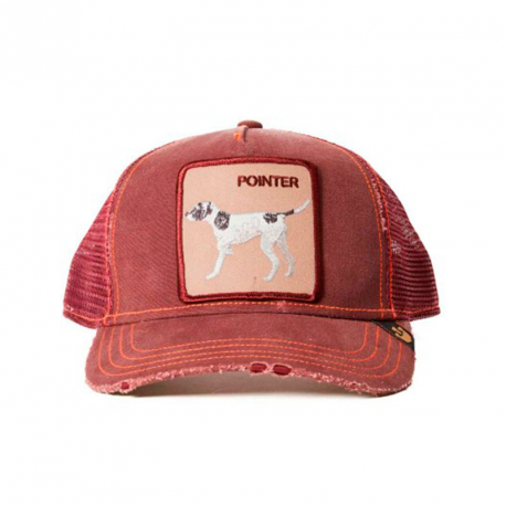 GORRA GOORIN POINTER ROJO